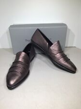 The Flexx Draper Women Sz US 8 Bronze Leather Pointed Toe Loafer Shoes X22-830
