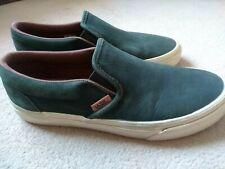 Vans UltraCush Leather Skate Shoes Slip On UK 6.5