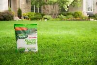 SCOTTS TURF BUILDER LAWN FERRILIZER NEW FOOD STARTER 1000-sq ft SOD GRASS PLUGS