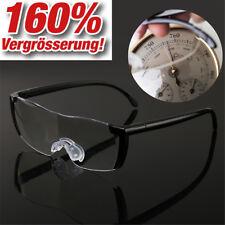 160% Vergrößerungsbrille Lupenbrille Zauberbrille SchutzBrille Lupe Vergrößerung
