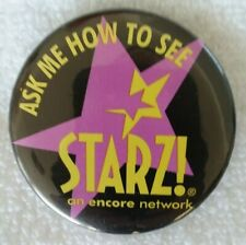 Starz Encore Promotional Logo Button