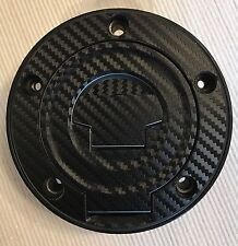 Yamaha FZ6 Fazer Carbon Look Fuel Cap Pad Sticker Fits Multiple Models