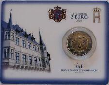 2 Euro commémorative de Luxembourg 2007 Brillant Universel (BU) - Palais Grand