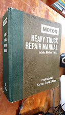 motor HEAVY TRUCK REPAIR MANUAL professional service trade ed 1988 5th ed  HB