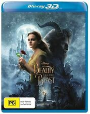 Beauty And The Beast 3D (Blu-ray, 2017) BRAND NEW SEALED