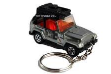 Custom Key chain Jeep Wrangler with cargo rack