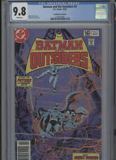 BATMAN AND THE OUTSIDERS #3 MT 9.8 CGC HIGHEST 1 OF 1 CANADIAN PRICE VARIANT