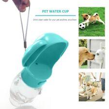Portable Pet Water Dispenser Feeding Bottle For Dog Cat Travel Feeder Tray Bowl