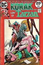 Korak Son of Tarzan 55 / 1973 Robert Kanigher Murphy Anderson Michael Wm. Kaluta