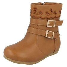 Chaussures marron avec boucle pour fille de 2 à 16 ans