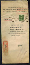 1936 Shanghai China Cover to SUSA via EMpress of Russia Ship Astor Hotel
