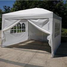 Ez Pop Up 10 x 10 Pop Up Canopy Tent Gazebo Outdoor Shade White