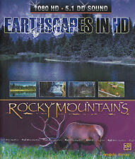 [BRAND NEW] BLU-RAY DVD: EARTHSCAPES IN HD: ROCKY MOUNTAINS