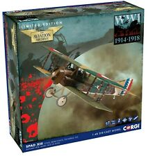 New Release Corgi 1:48th Scale SPAD XIII WWI 1914-1918 Limited Edition Model.