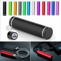 DIY 2600mAh Portable External USB Power Bank Box Battery Charger For Cell Phones
