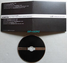 U2 PREVIOUS DAY LIMITED EDITION CD Single DIGIPACK 2001 PROMO 10 TRACKS