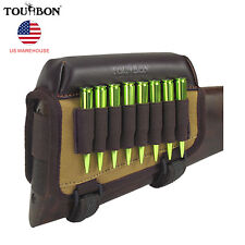 Tourbon Rifle Ammo Bag Hold Cheek Rest Pad Buttstock Gun Shell Vintage in USA