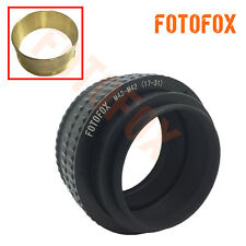 Brass M42 to M42 17-31mm Adjustable Focusing Helicoid Adapter Macro Tube M42-M42