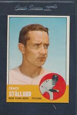 1963 Topps #419 Tracy Stallard Mets VG/EX *881