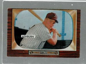 1955 Bowman Baseball #130 Richie Ashburn EX (JF)