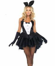 Bunny Girl Tailcoat Black Dress Bar Waitress PlayBoy Tuxedo Costume for Cosplay