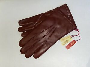 Genuine Dents leather Handsewn  gloves - Cashmere lined  - English Tan - Chelsea