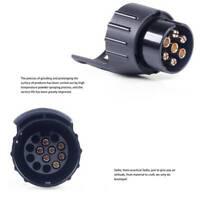 7pin to 13pin Truck Trailer Caravan Towing Towbar Socket Plug Converter Adapter