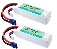 Lectron Pro 11.1v 3000mAh 30C 3S LiPo 2x Battery w/EC3 Blade 450 / 350QX QX2 QX3