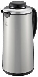 Tiger thermos bottle insulation tabletop stainless steel pot 1.9 L for business