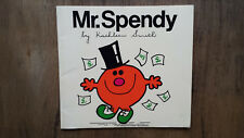 Kathleen Smith – Mr. Spendy (UK 1980s) very scarce Roger Hargreaves
