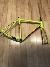 Niner BSB 9 RDO Frameset 56 Green And Carbon What You See Is What You Will Get