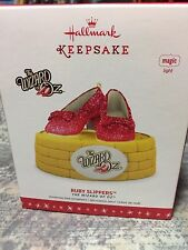 2016 Hallmark Wizard of Oz Ruby Slippers Ornament