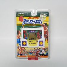 Vintage Tiger Electronics ALL PRO Basketball Handheld LCD Video Game Model 7-717