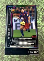 Panini WCCF FootistaVer. Lionel Messi 2005~2011 cards rc FC Barcelona argentina
