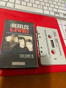 The Beatles Live At The Star Club Hamburg Germany 1962 Vol 1 Cassette Tape