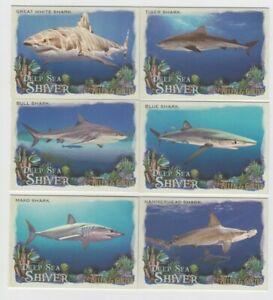 (29) 2021 TOPPS ALLEN & GINTER DEEP SEA SHIVER INSERT LOT WHALE SHARK ++