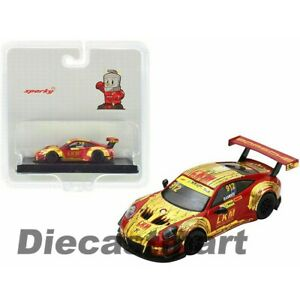 Sparky 1:64 Porsche 911 GT3 R Manthey Racing 4th FIA GT World Cup #912 New Y126B
