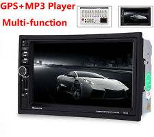 GPS Navigation Car Bluetooth Stereo MP3 Player Steering Wheel Control FM radio