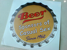 Beer sponsor di auto furgone Toolbox Decalcomania Adesivo 1 OFF 95mm