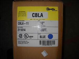 LIQUATITE CBLA-11  1/2 LIQUID TIGHT CONDUIT  BLUE  100ft