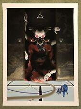 Ghost In The Shell Art Print Japanese Anime Manga Movie Poster Mondo Tsuchinoko