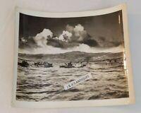 WW2 US Coast Guard Ships Military Official Photo Photograph