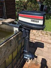 Yamaha 5hp 2 Stroke Long Shaft 2 Stroke Outboard Boat Engine
