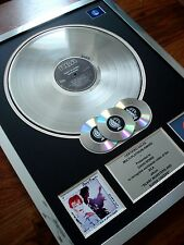 DAVID BOWIE SCARY MONSTERS LP MULTI PLATINUM DISC RECORD AWARD ALBUM