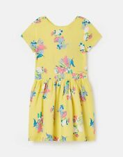 Joules Girls Teaparty Dress  - YELLOW FLORAL
