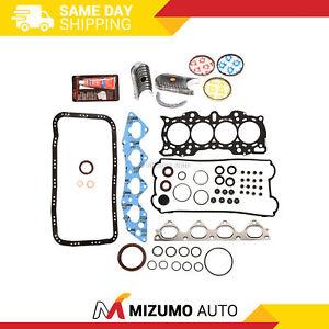 Engine Re-Ring Kit Fit 97-01 Honda CR-V 2.0 DOHC B20B4 B20Z2