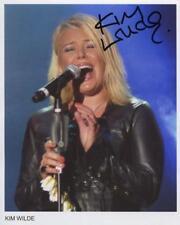 Kim Wilde Signed 8 x 10 Photo Genuine Obtained In Person
