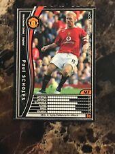 Paul Scholes 2005-2006 Panini WCCF RARE Japanese football card Manchester United