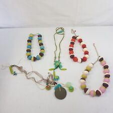 Konvolut Modeschmuck (5 Halsketten), ungetragen, Orna Lalo, Lalo Treasures