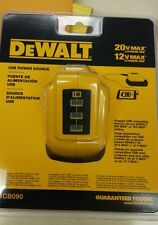 Official DEWALT DCB090 12V/20V Max* USB Power Source , blister pack